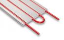 Unterwand-Heizkörper mit integriertem Alu Verbundrohr